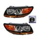 1ALHP01060-Hyundai Santa Fe Headlight Pair