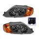 1ALHP01056-2003-04 Hyundai Tiburon Headlight Pair