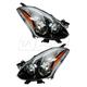 1ALHP01053-2010-13 Nissan Altima Headlight Pair
