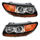 1ALHP01052-Hyundai Santa Fe Headlight Pair