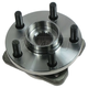 1ASHF00013-Wheel Bearing & Hub Assembly Front