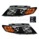 1ALHP01041-2009-10 Kia Magentis Optima Headlight Pair