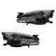 1ALHP01086-2011-13 Mazda 6 Headlight Pair