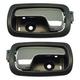 1ADHS01298-Chevy Cobalt Pontiac G5 Interior Door Handle Rear Pair