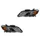 1ALHP01129-2013-15 Acura RDX Headlight Pair
