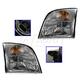 1ALHP01121-Mercury Mountaineer Headlight Pair