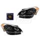 1ALHP01125-2012-13 Kia Soul Headlight Pair