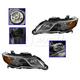 1ALHP01130-2013-14 Acura RDX Headlight Pair