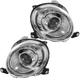 1ALHP01146-2012-17 Fiat 500 Headlight Pair