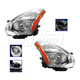 1ALHP01103-2009-10 Nissan Rogue Headlight Pair