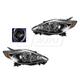 1ALHP01106-2008-10 Mazda 5 Headlight Pair