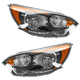1ALHP01119-2012-14 Kia Rio5 Headlight Pair