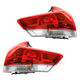 1ALTP00920-2013-16 Toyota Venza Tail Light Pair