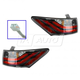 1ALTP00919-2011-13 Lexus CT200h Tail Light Pair