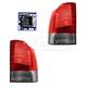 1ALTP00913-Volvo V70 XC70 Tail Light Pair