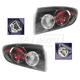 1ALTP00942-2004-06 Mazda 3 Tail Light Pair