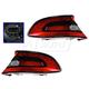 1ALTP00936-2013-16 Dodge Dart Tail Light Pair
