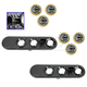 1ALTP00933-2003-04 Jeep Grand Cherokee Tail Light Circuit Board & Socket Kit Rear Pair