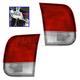 1ALTP00929-1996-98 Honda Civic Tail Light Pair