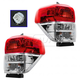 1ALTP00946-2010-13 Toyota 4Runner Tail Light Pair