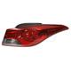 1ALTL01583-2011-13 Hyundai Elantra Tail Light Passenger Side