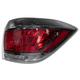 1ALTL01563-2011-13 Toyota Highlander Hybrid Tail Light Passenger Side