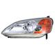 1ALHL00888-2001-03 Honda Civic Headlight Driver Side