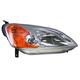 1ALHL00889-2001-03 Honda Civic Headlight Passenger Side