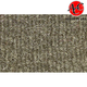 ZAICK08757-1997 Ford F250 Truck Complete Carpet 8991-Sandalwood  Auto Custom Carpets 20896-160-1134000000