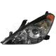 1ALHL00854-2004-06 Toyota Solara Headlight Driver Side