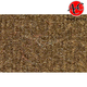 ZAICK08784-1975-79 Ford F350 Truck Complete Carpet 4640-Dark Saddle  Auto Custom Carpets 20868-160-1053000000