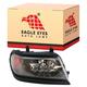 1ALHL00817-2000-04 Mitsubishi Montero Sport Headlight Passenger Side