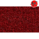 ZAICK08744-1975-79 Ford F150 Truck Complete Carpet 815-Red