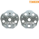 TKSHS00222-1997-01 Honda Prelude Wheel Bearing & Hub Assembly Rear Pair