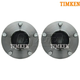 TKSHS00224-Infiniti G35 Nissan 350Z Wheel Bearing & Hub Assembly Front Pair  Timken HA590027