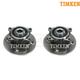 TKSHS00234-Mini Cooper Wheel Bearing & Hub Assembly Rear Pair Timken HA590161