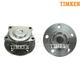 TKSHS00231-Volvo S60 S80 V70 Wheel Bearing & Hub Assembly Rear Pair  Timken HA590389