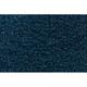 ZAICK08683-1974 Dodge W200 Truck Complete Carpet 7879-Blue