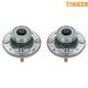 TKSHS00246-Volvo S40 V40 Wheel Bearing & Hub Assembly Rear Timken HA590257