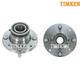TKSHS00242-Wheel Bearing & Hub Assembly Rear Pair