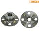 TKSHS00243-2001-05 Honda Civic Wheel Bearing & Hub Assembly Rear