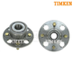TKSHS00245-Honda Civic Civic Hybrid Wheel Bearing & Hub Assembly Rear Pair Timken 512175