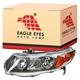 1ALHL00970-2006-08 Honda Civic Headlight Driver Side