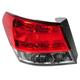 1ALTL01676-2010-14 Subaru Legacy Tail Light Driver Side