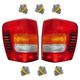 1ALTP00582-Jeep Grand Cherokee Tail Light & Socket Set Pair
