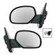1AMRP00577-Mirror Pair Chrome Cap