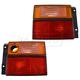 1ALTP00573-Volkswagen Jetta Tail Light Pair