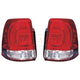 1ALTP00565-2008-11 Toyota Land Cruiser Tail Light Pair