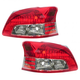 1ALTP00568-2007-12 Toyota Yaris Tail Light Pair