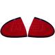 1ALTP00550-2003-05 Pontiac Sunfire Tail Light Pair